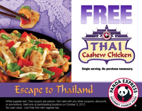 Free Thai Chicken
